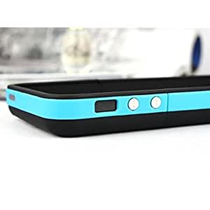 NEW 2500mAh External Battery Backup Rechargeable Charger Case Cover Pack Power Bank for iPhone 5/5S , Black