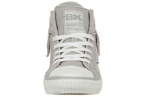 British Knights ROCO BK women trainer Sneaker B35-3734-03 grey grau