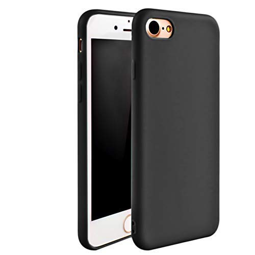 iEugen Protection Slim Cover for iPhone 6 / 6S. Shockproof Shell Full Body Coverage DropProof Drop Protection Durable Pocket Protector Cases not Bulky for iPhone 6/6S - Black