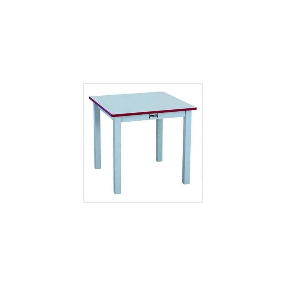 Jonti Craft 56220JC007 Rainbow Accents Square Preschool Table