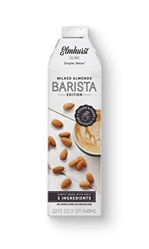 6pk Elmhurst Barista - Milked Almonds - 32 oz - Only 5 Ingredients, No Added Gums or Emulsifiers - Almond Milk