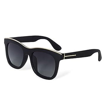 TL-Sunglasses Mujer Gafas de Sol polarizadas Gafas de Sol de Moda Retro Cuadrado Grande