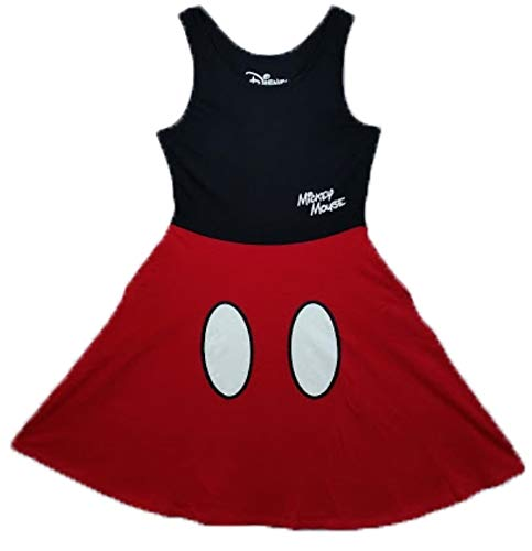 Mickey Mouse Dress For Women - Disney Women Junior Mickey Mouse Dress