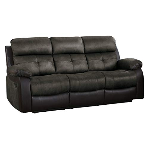 Homelegance Manual Double Reclining Sofa, 82