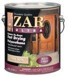 ZAR 34112 Ultra Fast Drying Exterior Polyurethane, Satin by ZAR