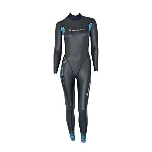 Aqua Sphere Aqua Skin Frauen Kompletter Anzug, Schwarz, M
