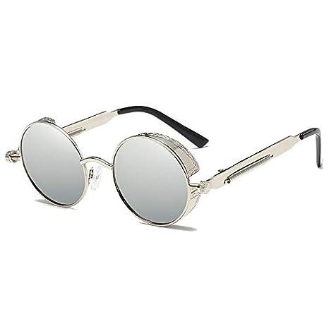 Gafas de sol Steampunk Hombre Mujer Retro Vintage UV400