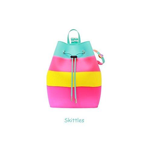 American Jewel Yummy Pineapple Scented Silicone Bucket Backpack