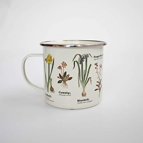 - Gift Republic Wild Flower Enamel Mug, Multicolor