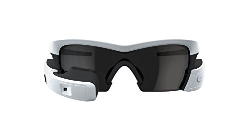Recon Jet Smart Eyewear for Sports and Fitness - White
