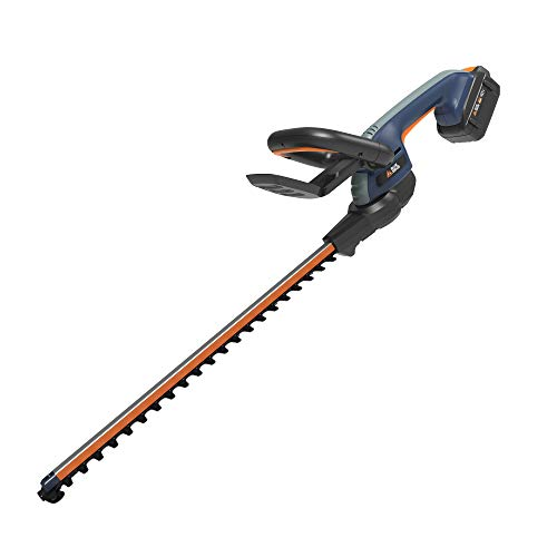 "BLUE RIDGE BR8260U 40V 2.0Ah 24"" Cordless Hedge Trimmer Battery and Charger Included"