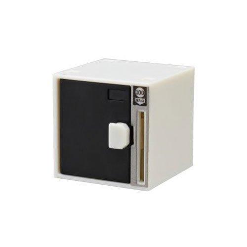 Capsule mini coin locker black single item by Kitan Club