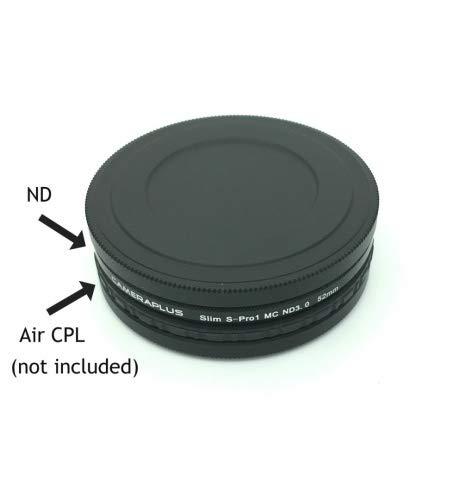 CameraPlus - Filtro de Densidad Neutra ND 3.0 de 52 mm, Fino, S ...