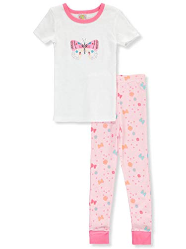 - Sweet & Soft Baby Infant 2-Piece Pajamas - Butterfly, 18 Months