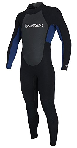Lemorecn Wetsuits Youth 3/2 mm Full Diving Suit (4031blackblue12) 3mm Full Wetsuit Diving Suits