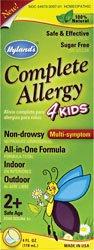 Hyland's Complete Allergy 4 Kids 4 OZ