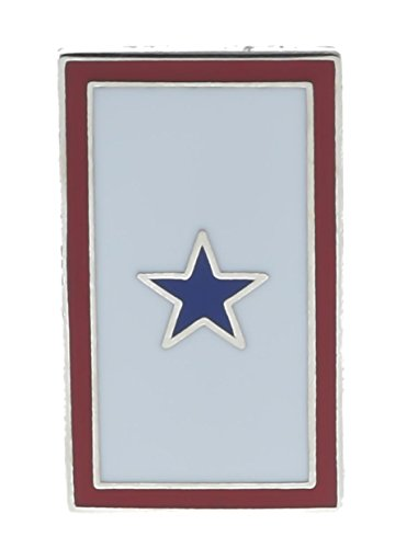 Sujak Military Items Blue Star Service Flag Pin HON14240