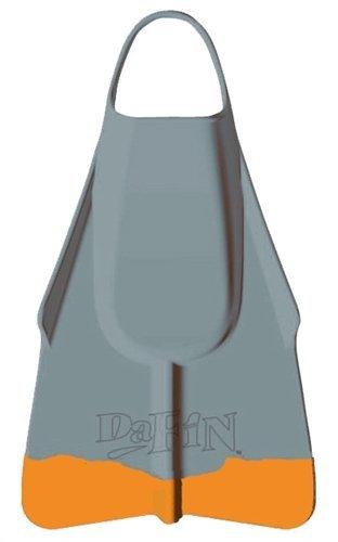 DaFin Grey/Orange Swimfins - ML
