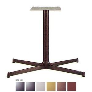e-kanamono テーブル脚 SBL3850 ベース740x440 パイプ60.5φ 受座300x300 アルミジービー/塗装パイプ AJ付 高さ700mmまで ゴールドメタリック B012CF3U20 ゴールドメタリック ゴールドメタリック