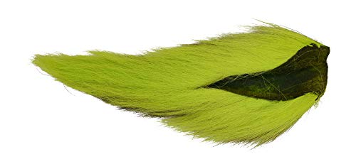 Hareline Large Northern Bucktail Chartreuse