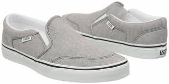 Asher Slip On Skate Sneakers Grey