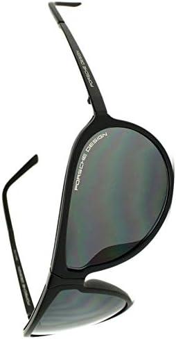 Porsche Design Sonnenbrille P8619-A-65 Montures de lunettes, Noir (Schwarz), 65.0 Homme