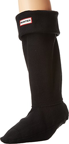 Hunter Women's Boot Socks Black LG (Women's Shoe 8-10) from Hunter