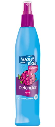 Suave enfants Cabriole Swirlberry spray démêlant, 8,5 oz (6 pack)