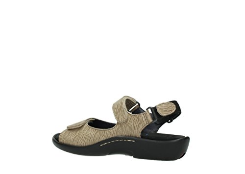 Sandals Womens 70390 1300 Nubuck Leather Wolky Salvia Beige dIw4OCCqg
