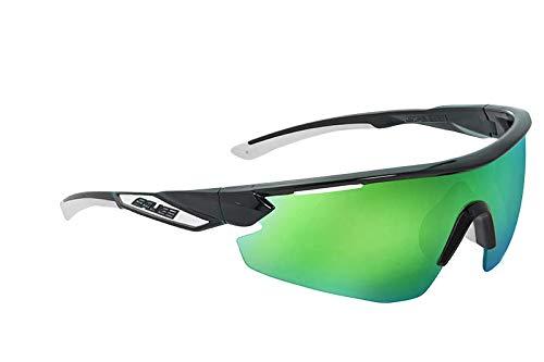 Salice 012rw Sonnenbrille Unisex Erwachsene, schwarz grün