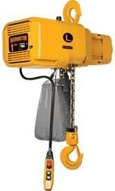 Harrington NER003SD-20 NER Dual Speed Electric Chain Hoist 20 Lift 208V 1//4 Ton 36//6 ft//min