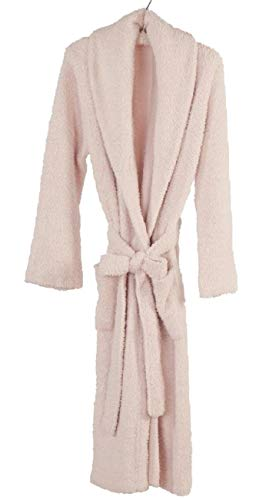 Kashwere Shawl Collared Robe in Pink Size Large