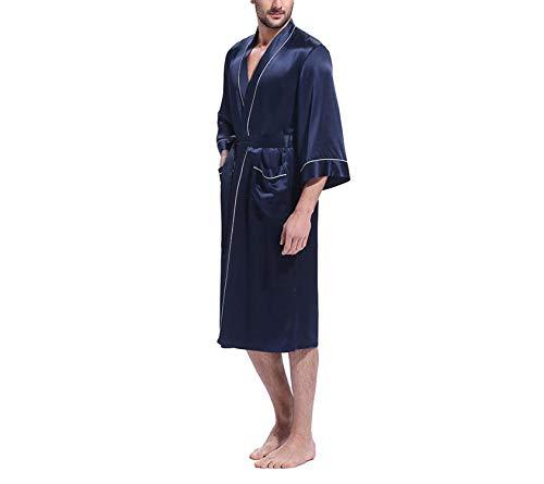 White Maniche Per Tasche Kimono Tre Bianca In A Interne Da Con Bagno Availcx E Seta Uomo Pura Quarti Qhdtsr
