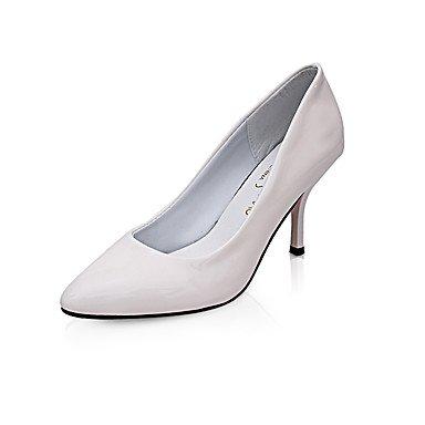 Talones de las mujeres Zapatos Primavera Verano Otoño Invierno Club de tacón de aguja Casual Comfort PU Oficina Boda Carreras y vestido de noche Otros Black