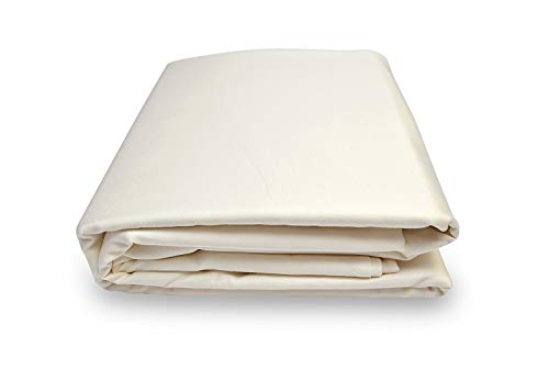 Calico Homes 1000 Thread Count 100% Egyptian Cotton Ultra Soft 1 Piece Flat Sheet (Top Sheet) Cal-King Size Ivory Color