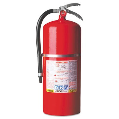 ProPlus 20 MP Dry-Chemical Fire Extinguisher, 20lb, 20-A, 120-B:C, Sold as 1 Each