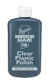 Mirror Glaze Clear Plastic Polish, 6 oz.-by-MEGUIAR'S ()
