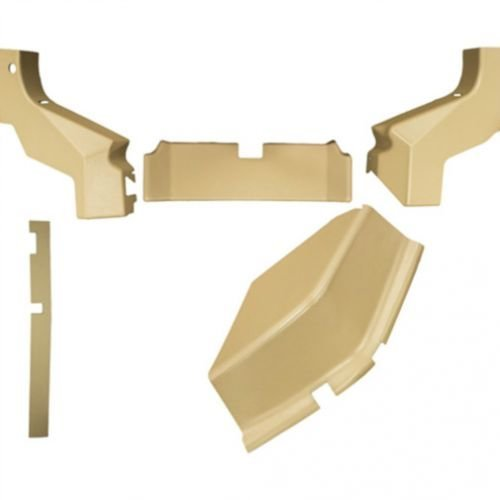 All States Ag Parts Cab Foam Kit Formed Plastic 5 Pieces Tan Compatible with John Deere 6400 6100 6200 6300 6500 ()