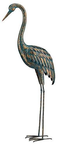 (Regal Art &Gift Patina Crane Standing Art, 55-Inch)