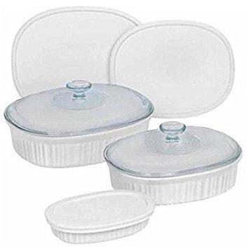 CorningWare® French White® 8-Piece Bakeware Set from World Kitchen