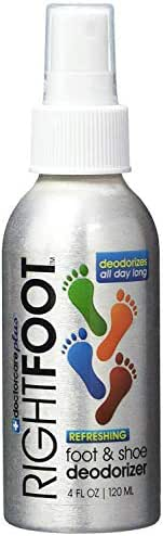 #1 Most Effective Foot and Shoe Deodorizer Spray - All Natural and 100% Safe for All Shoes & Feet - Fresh Peppermint & Tea Tree Deodorant, Shoe Odor Eliminator & Kills Bacteria Immediately!