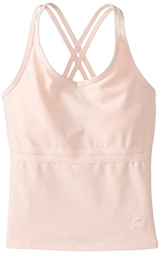 - Danskin Big Girls' Cross Back Camisole Dance Top, Petal Pink, Medium