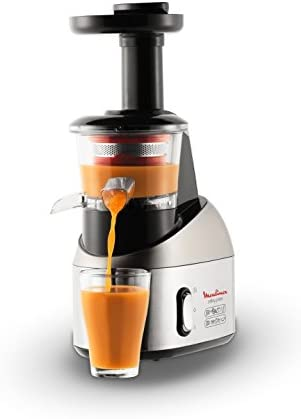 Moulinex Infiny Juice Extracteur de jus à basse vitesse Métal RéférenceZU258D