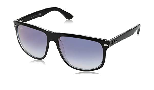 Ray-Ban 0RB4147 Gafas de sol, Top Black On Transparente, 55 ...