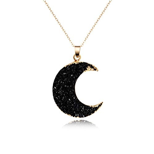 Eagles Moon Pendant Necklace 1PC New Black Moon