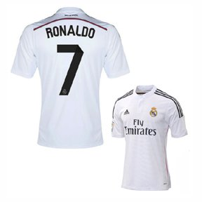 Adidas Real Madrid Home Jersey [WHITE/BLACK/BLAPNK] ()