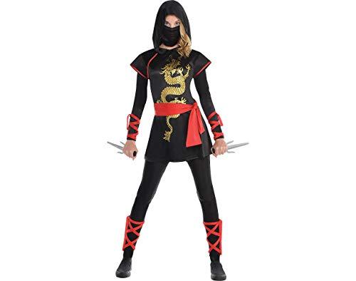 Amscan Adult Ultimate Ninja Costume - Large