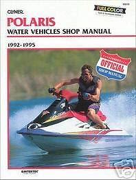 92 93 94 95 Manual - Clymer Repair Manual for Polaris Watercraft PWC 92-95