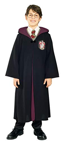 Rubie's Harry Potter & The Deathly Hallows Gryffindor Robe Costume - Large (12-14) Black ()