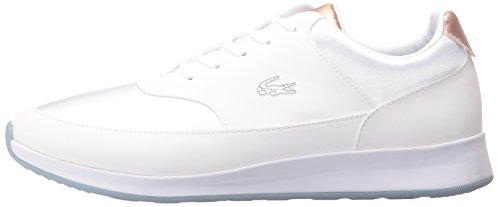 Lacoste Women's Chaumont Lace 317 1 Fashion Sneaker, White, 9.5 M US